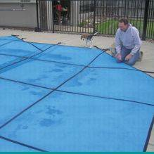Lightweight Solid Safety Pool Cover