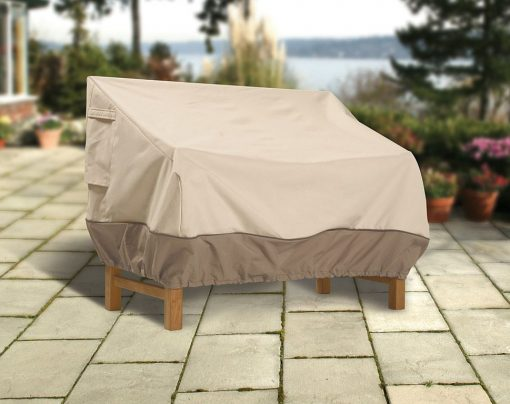 Patio Loveseat Bench Bkgrd