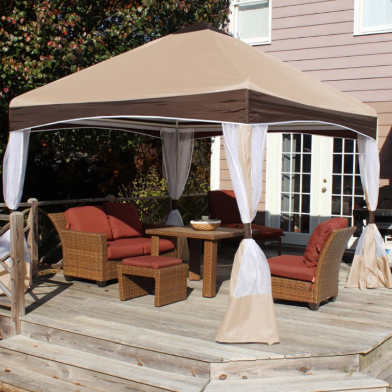 Portable Shade Canopies and Gazebos