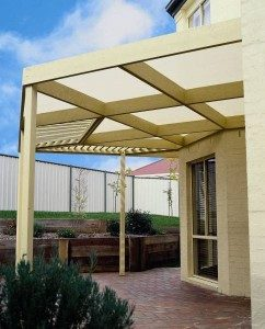 Shade Cloth Fabric for Pergolas