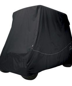 Fairway Quick Fit Golf Cart Cover Black Large