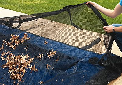 Leaf Nets - Getting leaves off Your Pool Cover has never been Easier