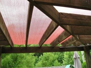 Pergola Shade Cloth