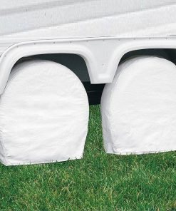 Vinyl RV Wheel Covers