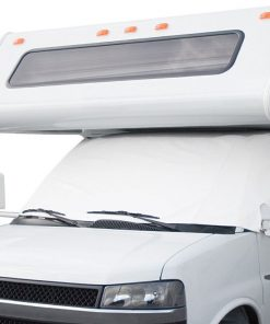RV White Windshield