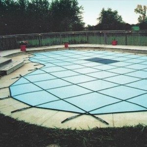 Solid Safety Pool Cover