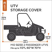 Fits Mid Sized 2 Person UTV